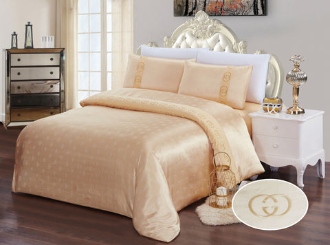 JE 02 JACQUARD/300 THREAD COTTON BEDDING SET