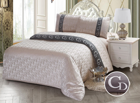 JE04G JACQUARD/300 THREAD COTTON BEDDING SET
