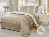 JE10 JACQUARD/300 THREAD COTTON BEDDING SET (CHANNEL INFUSION)
