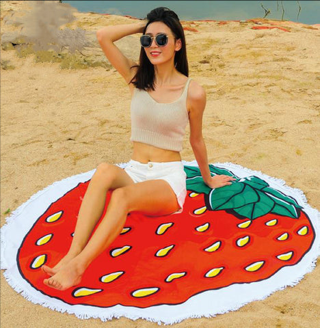 MMT -03 BEACH ROUND MAT-TOWEL