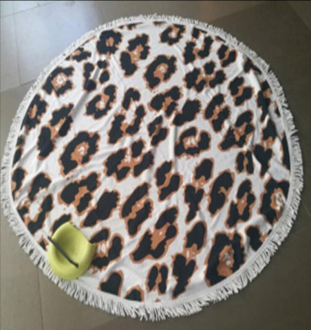 MMT -04 BEACH ROUND MAT-TOWEL