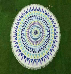 MMT -08 BEACH ROUND MAT-TOWEL