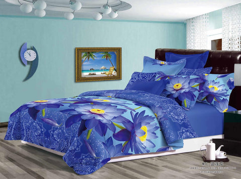 MP35 MICROFIBER/  300 THREAD  COTTON BEDDING SET