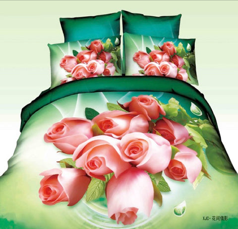 MP40 MICROFIBER/  300 THREAD  COTTON BEDDING SET