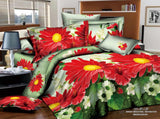 MP42 MICROFIBER/  300 THREAD  COTTON BEDDING SET