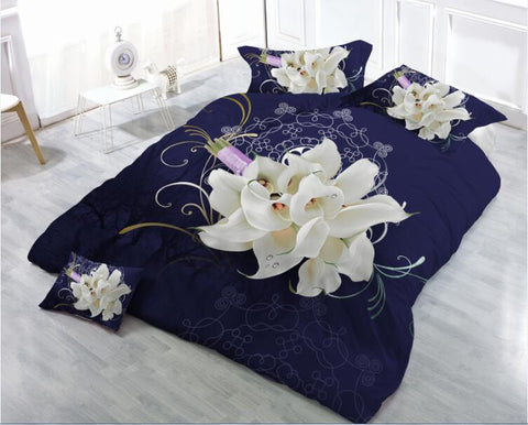 MP67 MICROFIBER/  300 THREAD  COTTON BEDDING SET