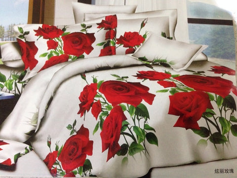 SA0 2 SILK/300 THREAD COTTON BEDDING SET