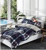 ST071 BURBERRY  INFUSION , 600 THREAD COTTON BEDDING SET