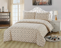 ST086-2 LV INFUSION , 600 THREAD COTTON BEDDING SET