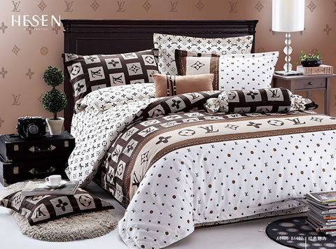 ST157 BURBERRY  INFUSION , 600 THREAD COTTON BEDDING SET