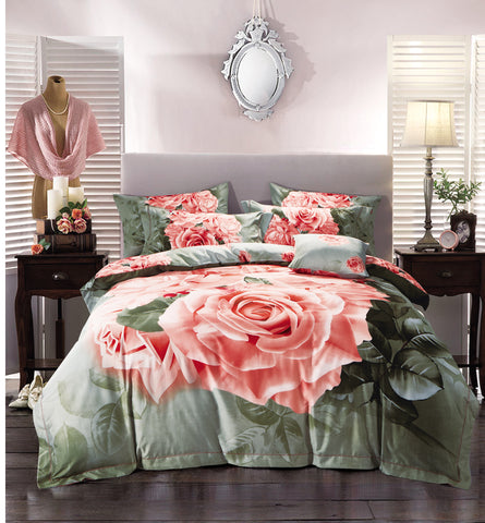 VA15  1000 THREAD COTTON BEDDING SET