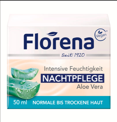 Florena ORGANIC Night Cream ( ALOE-VERA )   (43)