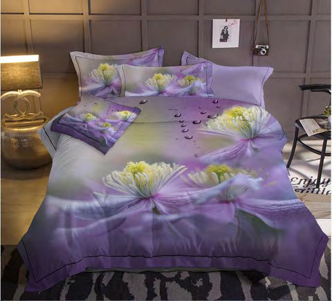 MP68K  MICROFIBER /300 THREAD COTTON BEDDING SETS