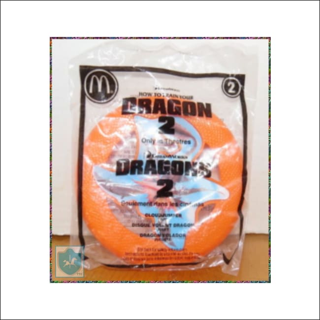 2014 Mcdonalds Dreamworks How To Train Your Dragon 2 Happy Meal Toy Unopened Mip