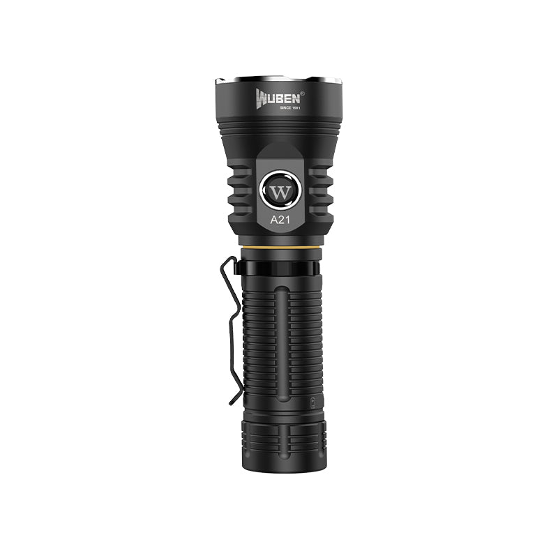 Wuben A21 Aluminum rechargeable LED flashlights-4200 Lumens