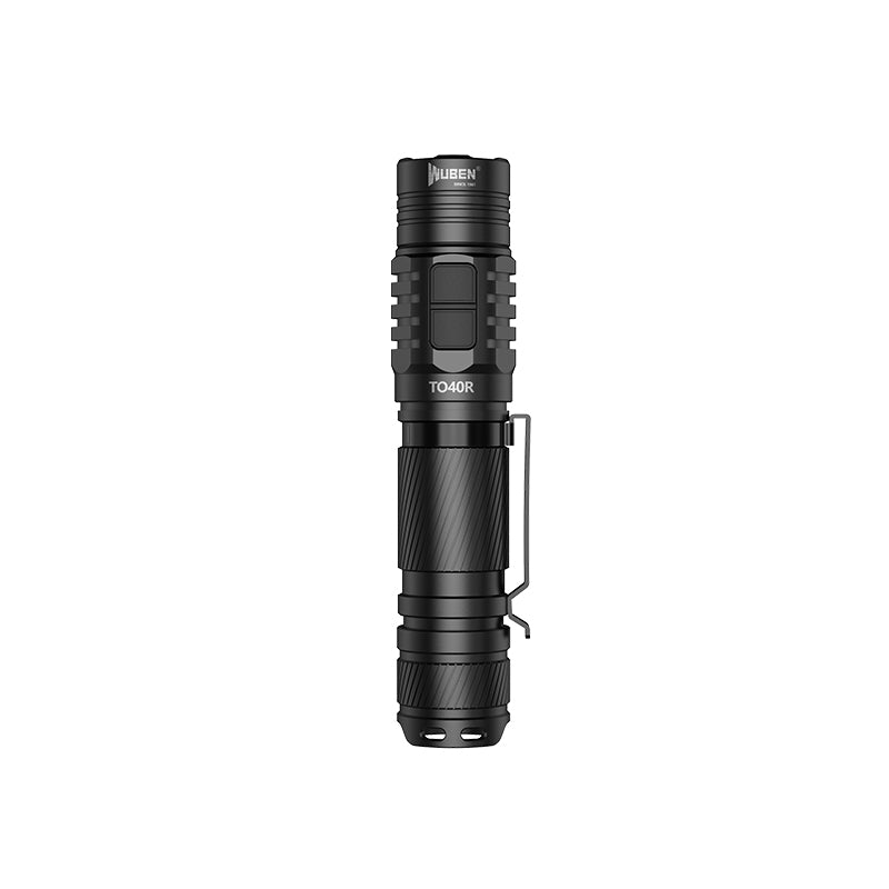 Wuben TO40R Aluminum rechargeable LED flashlights-1200 Lumens