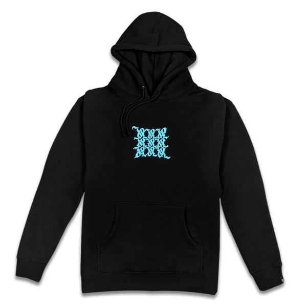 Maelstrom Vertigo Logo Hoodie black with blue for Vertigo by vAustinL