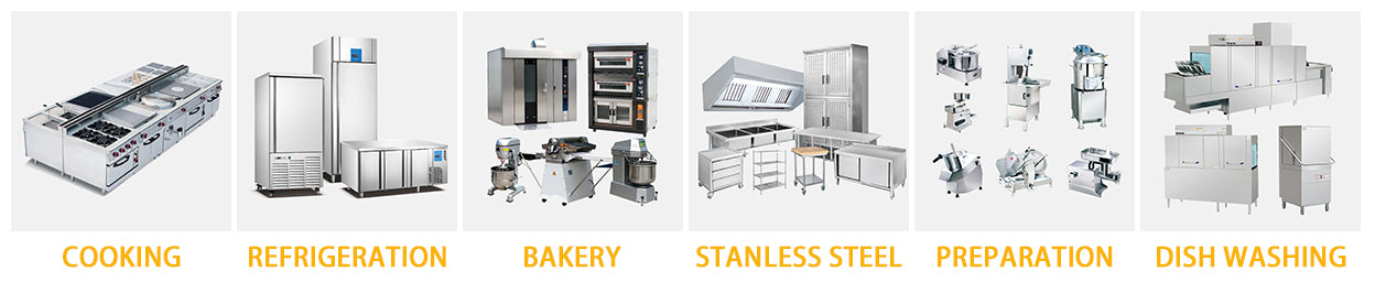 Commercial Kitchen Equipment Ranges