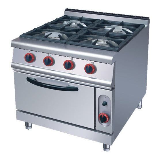 4 Burner Gas Range With Gas Oven (Classic 900 Series)