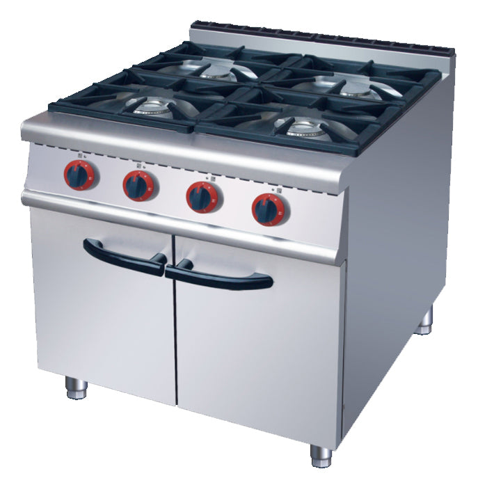 4 Burner Gas Range With Cabinet (Classic 900 Series)
