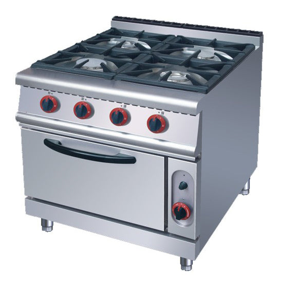 4 Burner Gas Range With Electric Oven (Classic 700 Series)
