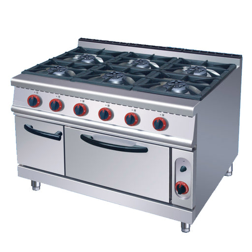 6 Burner Gas Range With Gas Oven (Classic 700 Series)