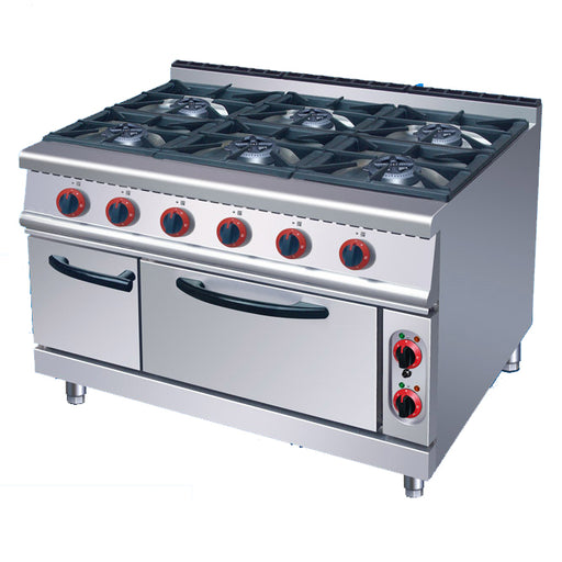 6 Burner Gas Range With Electric Oven (Classic 700 Series)