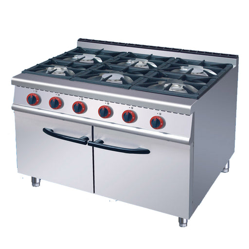 6 Burner Gas Range With Cabinet (Classic 700 Series)