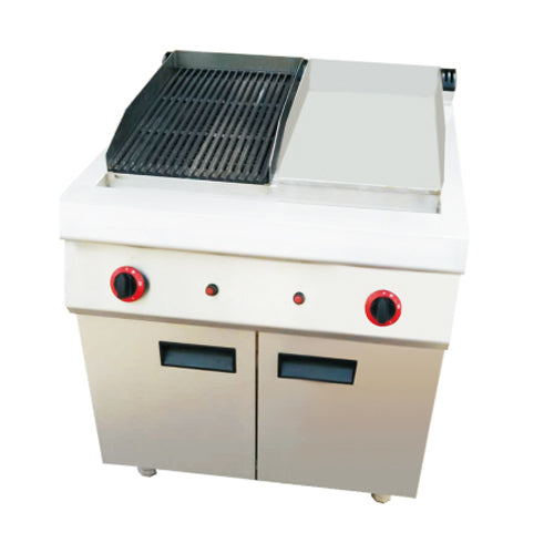 Gas 1/2 Griddle & 1/2 Grill With Cabinet (Classic 900 Series)