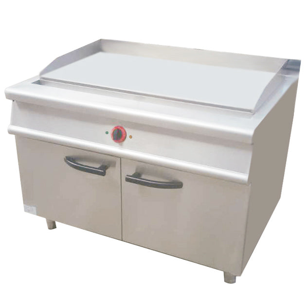 1/3 Grooved & 2/3 Flat Electric Griddle With Cabinet (Classic 900 Series)