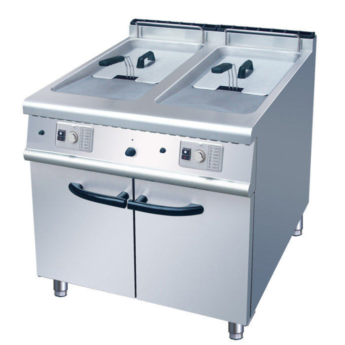 Gas 2 Tank Fryer With Cabinet (Classic 900 Series)