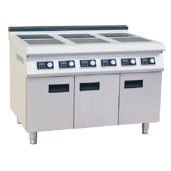 6 Plate Induction Cooker With Cabinet (Classic 900 Series)