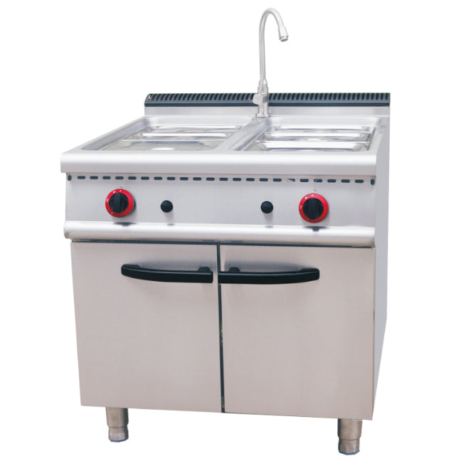 Gas Bain Marie With Cabinet (Classic 700 Series)