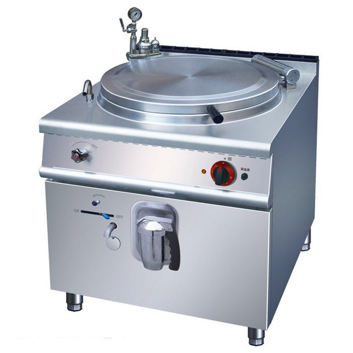 100L Gas Indirect Jacketed Boiling Pan (Classic 900 Series)