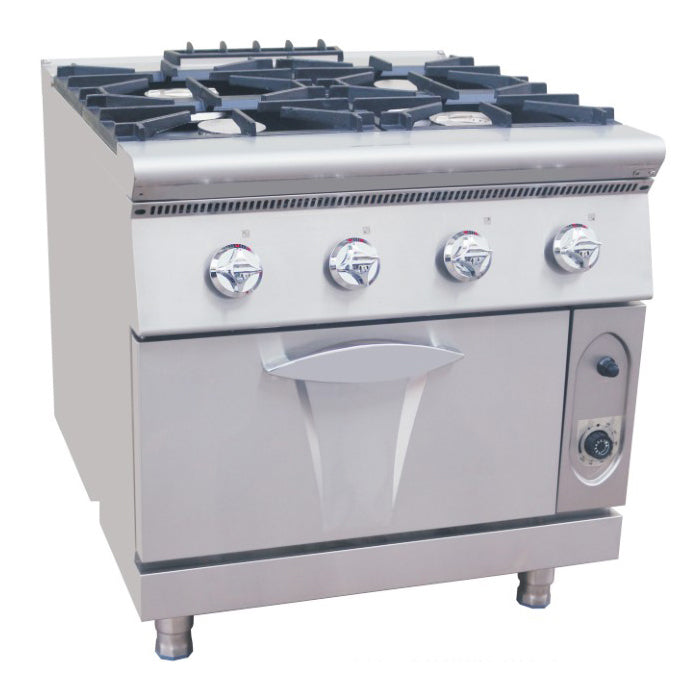 4 Burner Gas Range With Gas Oven (Luxury 900 Series)