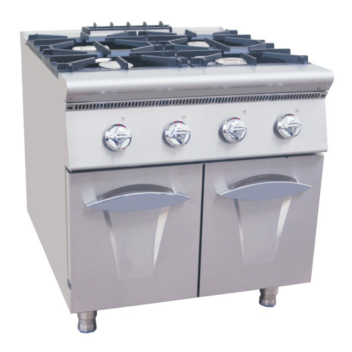 4 Burner Gas Range With Cabinet (Luxury 900 Series)