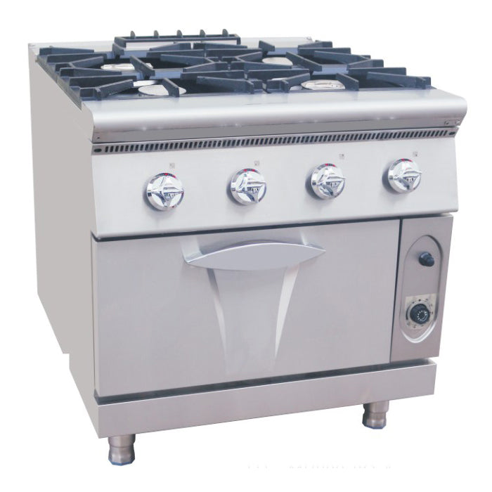 4 Burner Gas Range With Electric Oven (Luxury 900 Series)