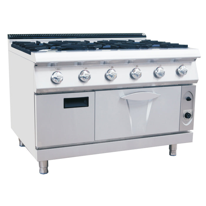 6 Burner Gas Range With Gas Oven (Luxury 700 Series)