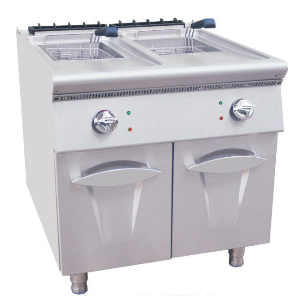 Electric 2 Tank Fryer With Cabinet (Luxury 700 Series)