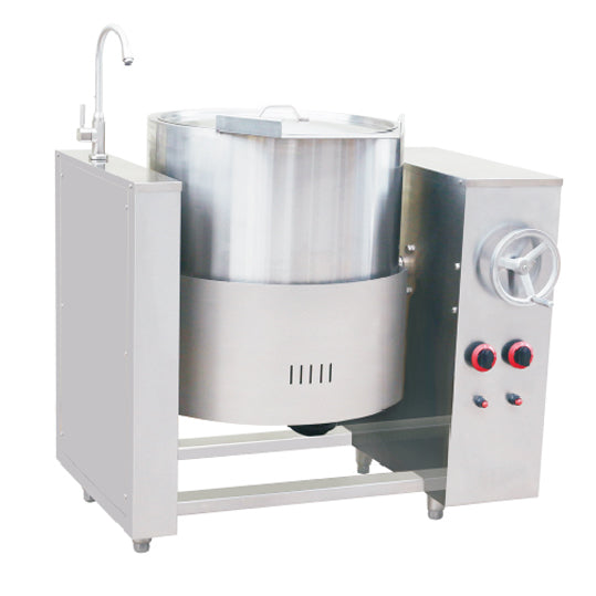 100L Gas Tilting Boiling Pan