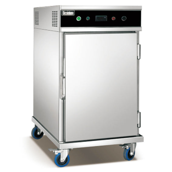Electric Food Warmer Cart With Single Door - 5 Tier / Bakery Tray*5