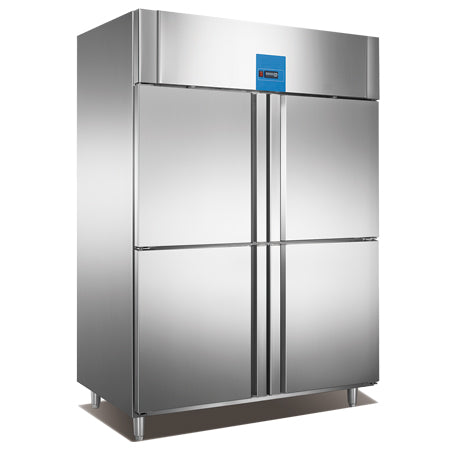 Upright Reach-In Refrigerator With 4 Half Door (Luxury Ventilated Series)