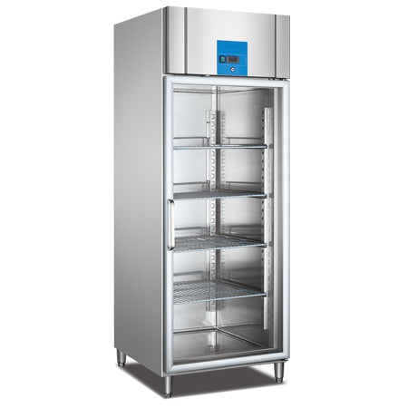 Upright Reach-In Freezer With Single Glass Door (Luxury Ventilated Series)