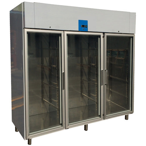 Upright Reach-In Freezer With 3 Glass Door (Luxury Ventilated Series)
