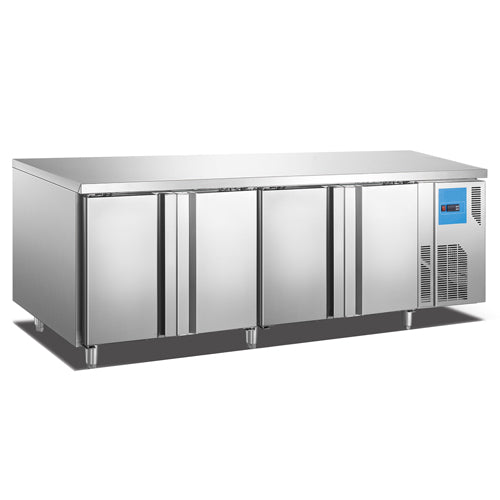 Counter Refrigerator With 4 Doors (Luxury Ventilated Series)