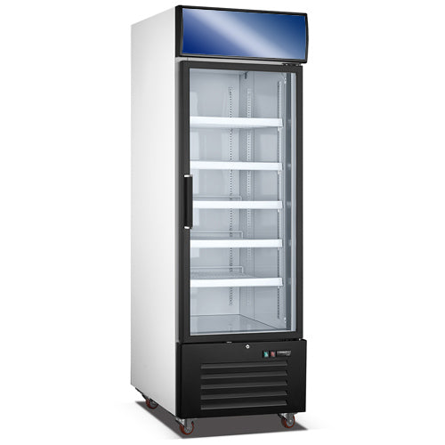 Upright Showcase Refrigerator With Single Door