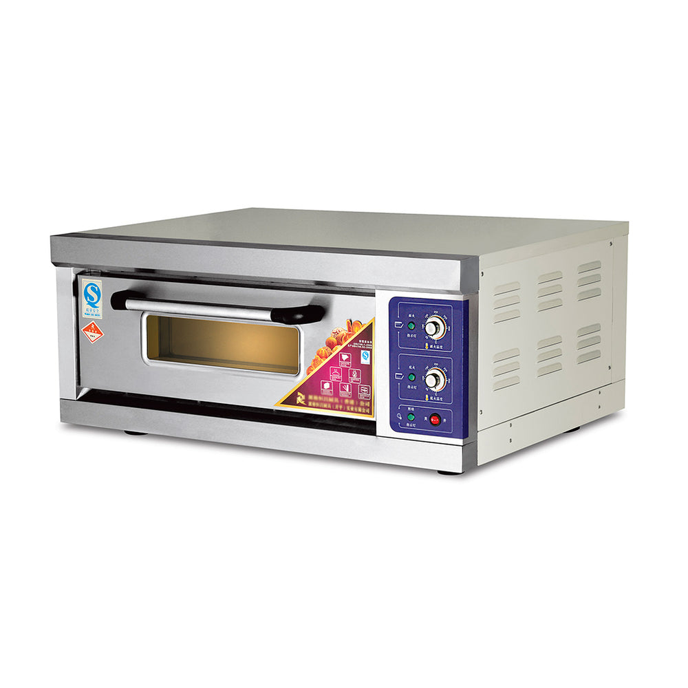 1 Deck 1 Tray Electric Deck Oven  (Economic Series)