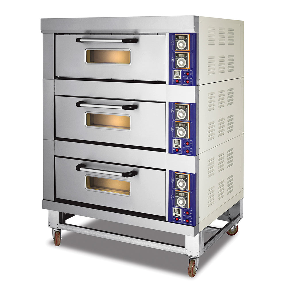 3 Deck 9 Tray Electric Deck Oven  (Economic Series)