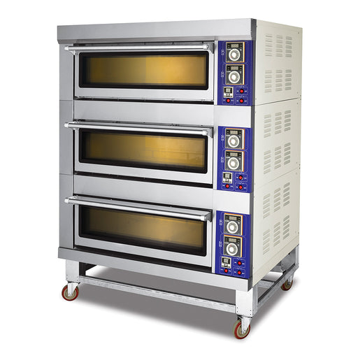 3 Deck 6 Tray Electric Deck Oven  (Standard Series)