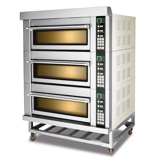 3 Deck 6 Tray Electric Deck Oven  (Smart Series)